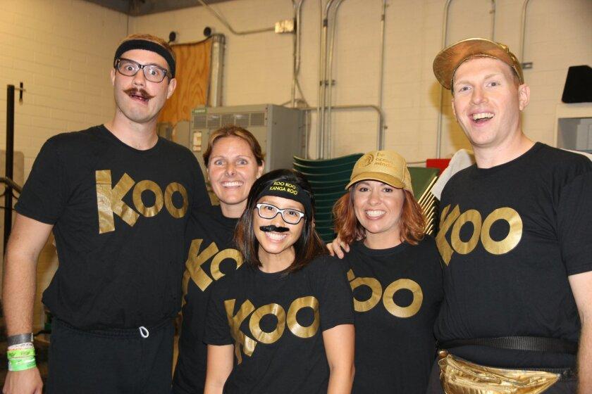 Koo Koo Kanga Roo visited R. Roger Rowe School recently. Photo by Jackie Mendez