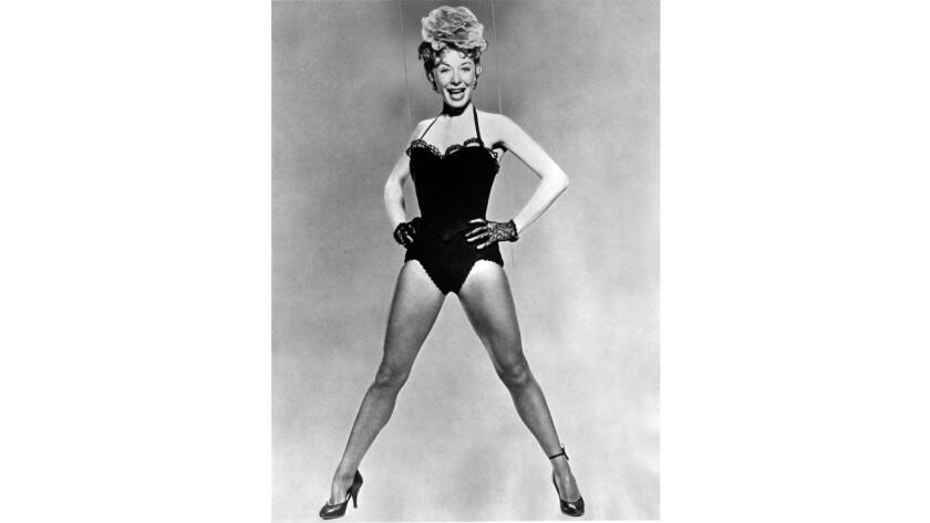 """Gwen Verdon in the 1958 movie """"Damn Yankees."""""""