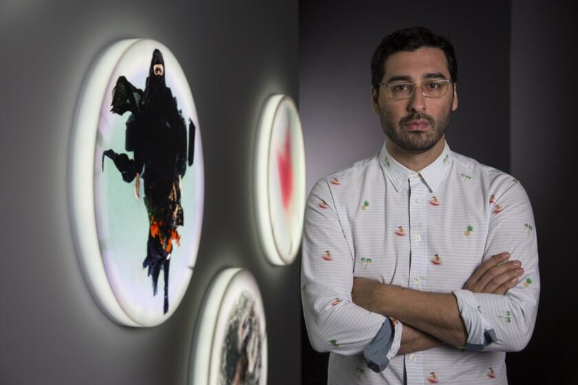 "Artist Lars Jan's exhibition ""Holoscenes: Quaternary Suite"" is at the Pasadena Museum of California Art."