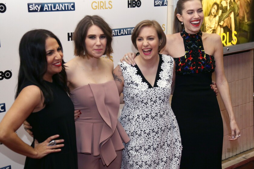 Lena Dunham, Zosia Mamet, Allison Williams, Jenni Konner,