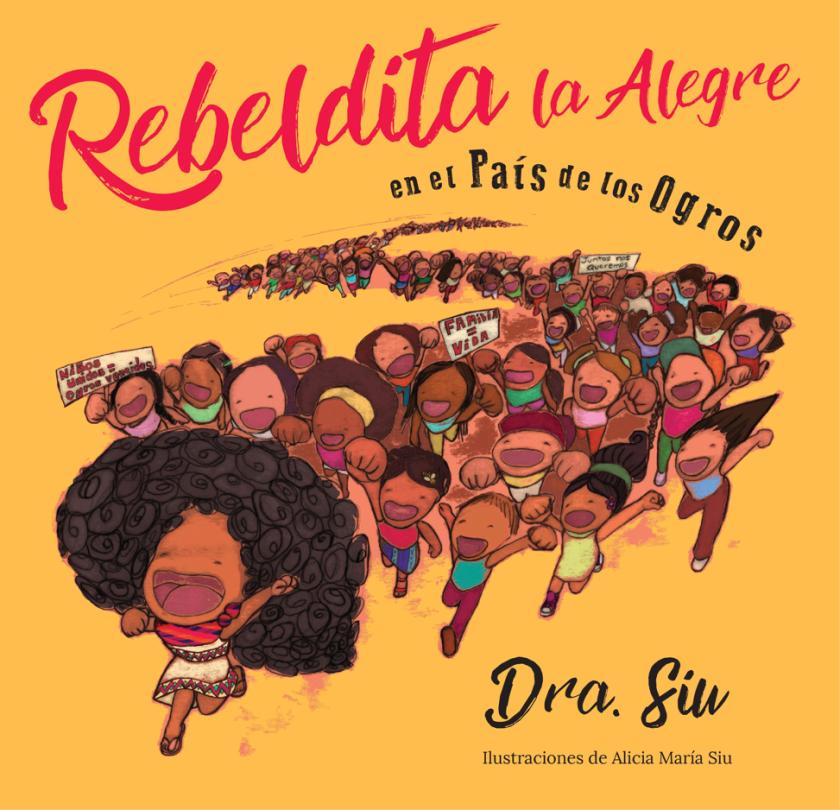 """""""Rebeldita la Alegre en el País de los Ogros"""" book cover"""