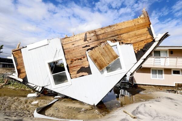 Sandy global warming