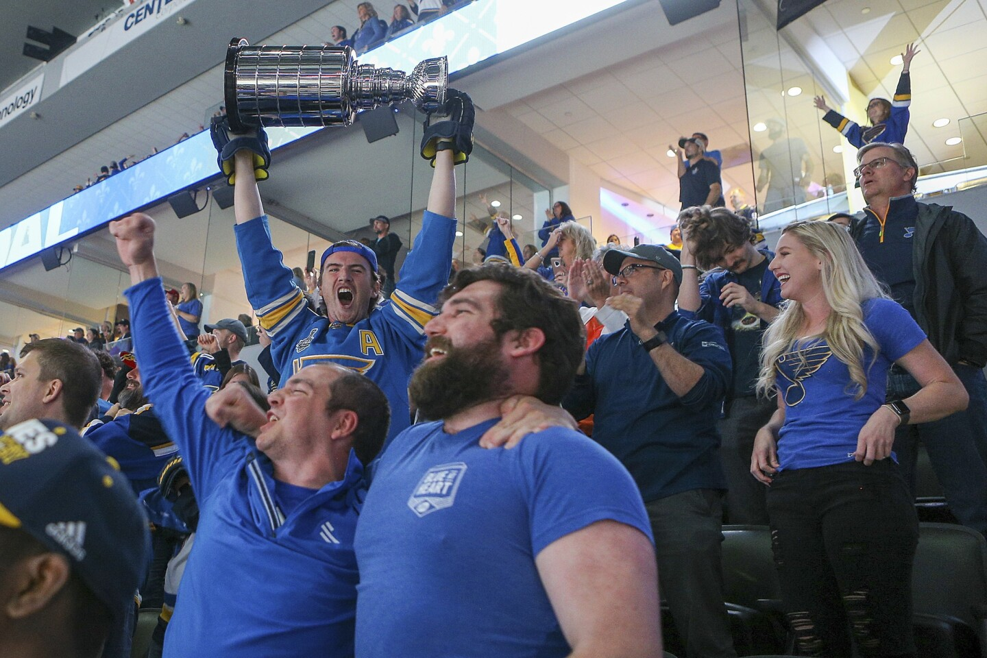 Blues take the Stanley Cup