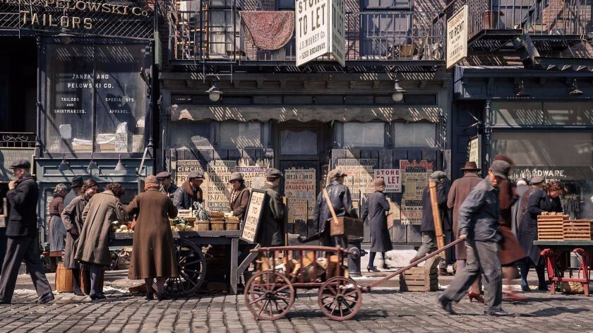 """On the set of """"Fantastic Beasts and Where to Find Them."""""""