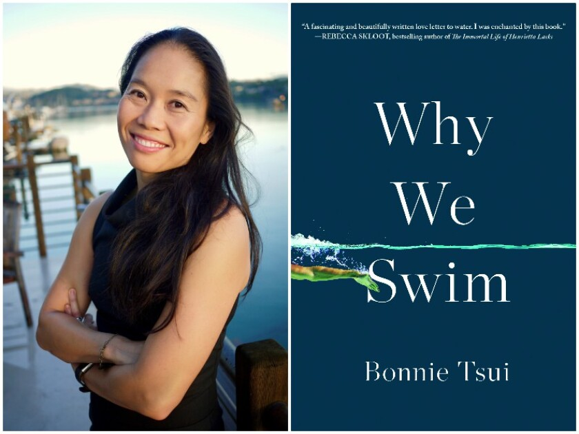 """Journalist Bonnie Tsui is the author of """"Why We Swim."""""""