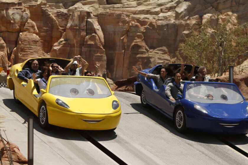 Cars Land preview