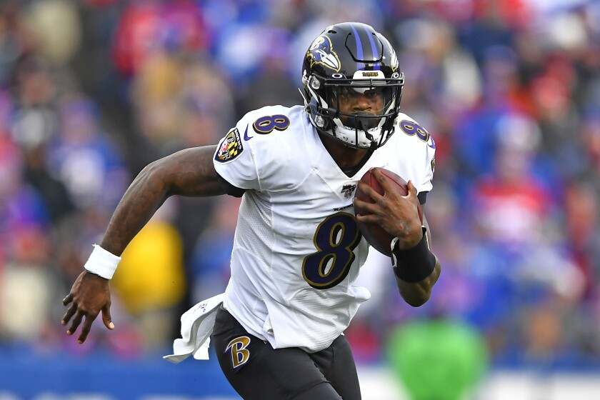 Ravens Clinch Afc Playoff Berth With 24 17 Win Over Bills The San Diego Union Tribune