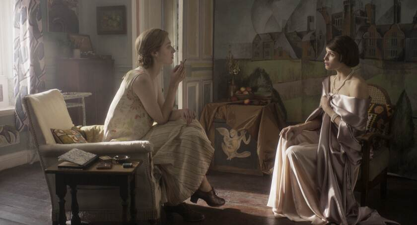 Review: 'Vita and Virginia,' a swooning and subversive portrait of a literary love affair