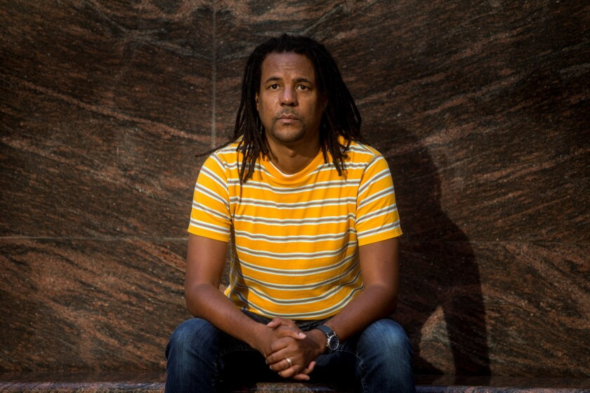 US writer Colson Whitehead presents new book : The Underground Railroad, Barcelona, Spain - 18 Oct 2017