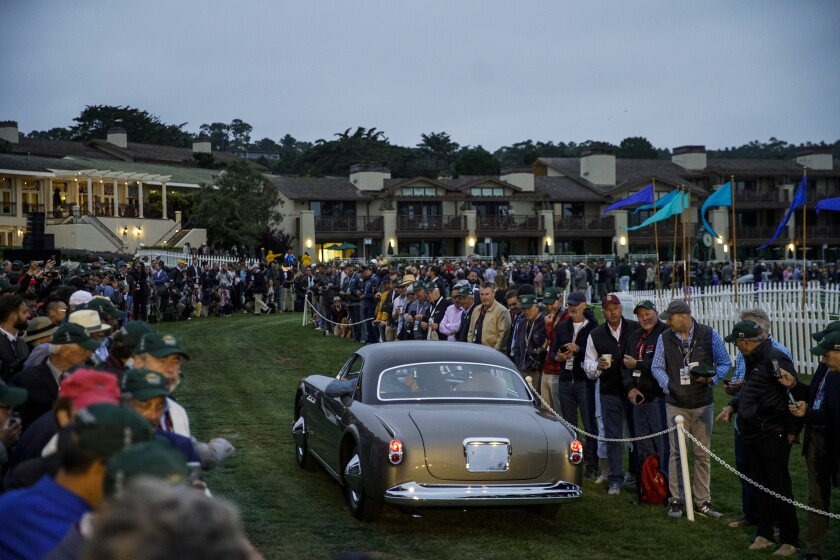 Classic car at the Pebble Beach Concours d'Elegance