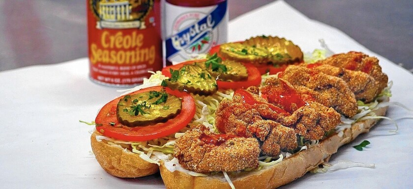oyster po'boy sandwich among best sandwiches in L.A.