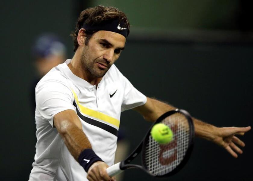 En la imagen, el tenista suizo Roger Federer. EFE/Archivo
