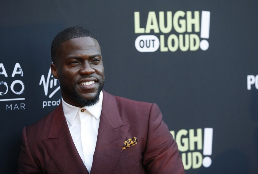 Kevin Hart pictured in 2017 in Beverly Hills.