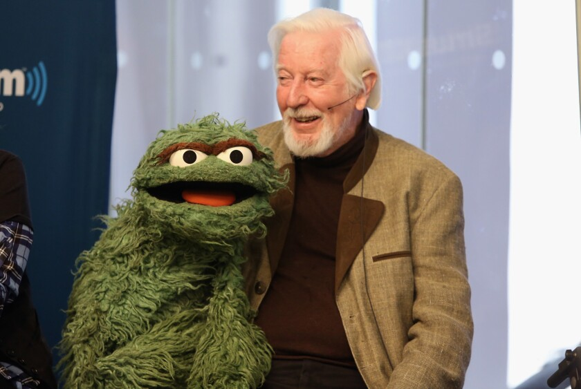 """Caroll Spinney is moving on from """"Sesame Street"""" after nearly 50 years."""