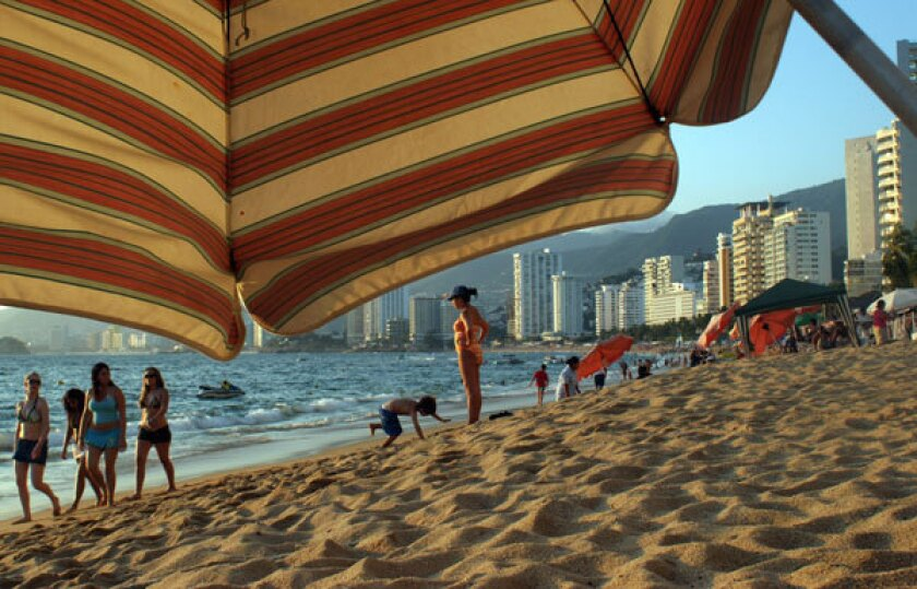 """Filming began last week on """"Gossip Girl Acapulco,"""" a Mexican TV series set in the """"former"""" jewel of the Mexican Riviera."""