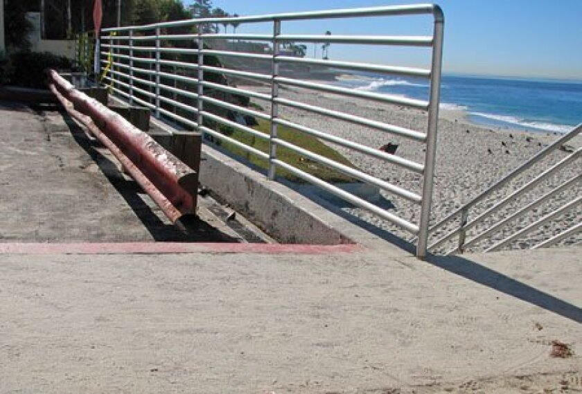 <strong>THE SITE:</strong> Marine Street, La Jolla