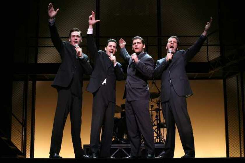 how long is the jersey boys show