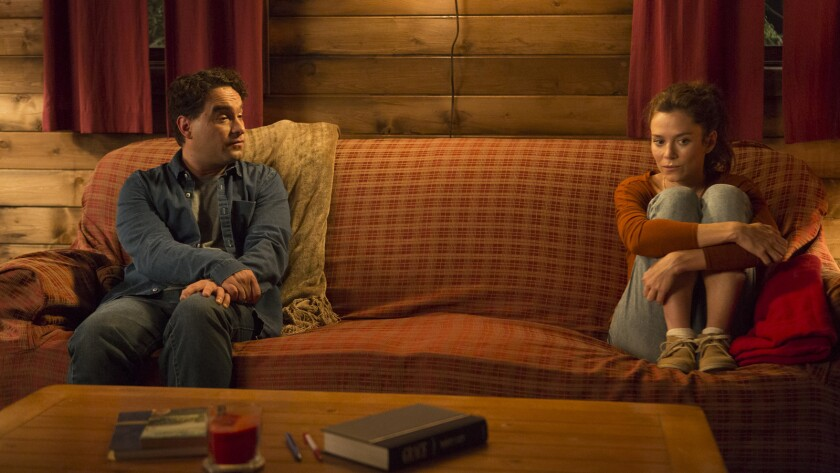 """(L-R) - Johnny Galecki and in a scene from the movie """"The Cleanse."""" Credit: Bob Akaster / Vertical E"""