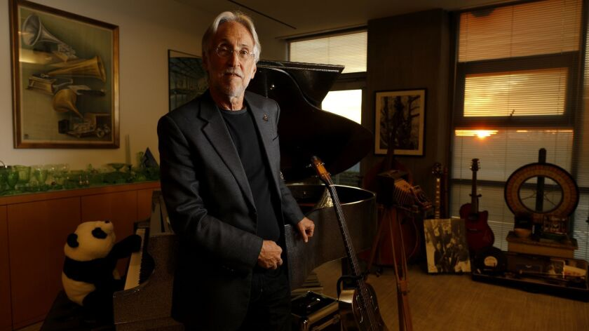 SANTA MONICA, CALIF. -- MONDAY, JANUARY 28, 2019: Neil Portnow, president of the Recording Academy,