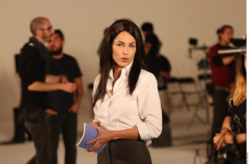 Bábara Mori es Eugenia Sánchez en 'La negociadora'