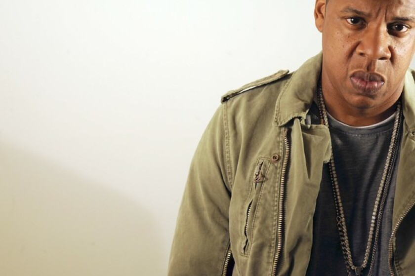 RAPPER: Jay-Z likened resistance to his performing at Glastonbury to segregation.