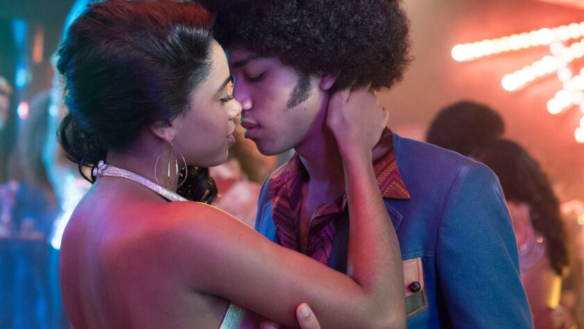 """""""The Get Down"""" stars Herizon F. Guardiola, left, and Justice Smith."""