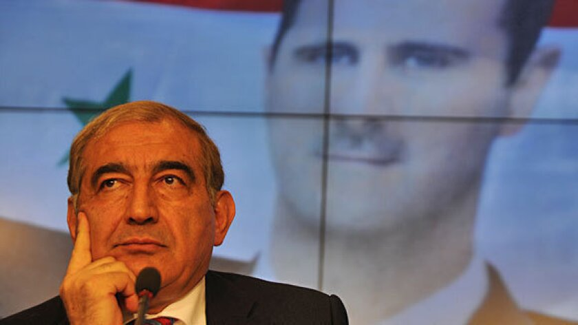 Syrian Deputy Prime Minister Qadri Jamil this week dismissed as mere election politics President Obama's implicit threat to intervene should the Syrian regime deploy its chemical weapons stockpile.