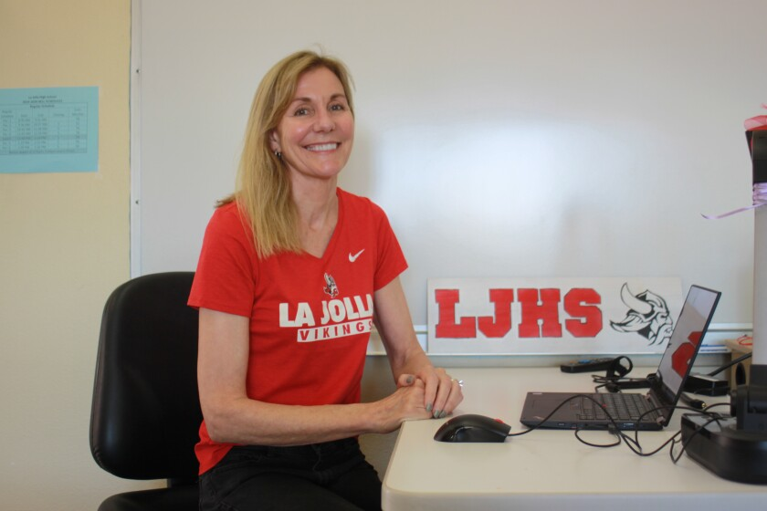 Cathy Hutchins is a La Jolla native, La Jolla High School counselor and mother to two professional baseball players, Kyle Zimmer and Bradley Zimmer.