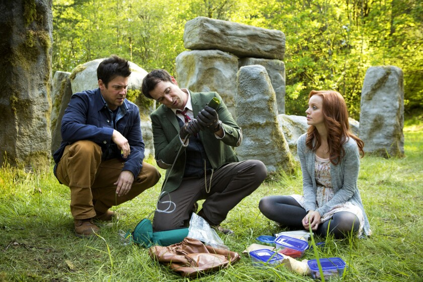 Scene from 'The Librarians'