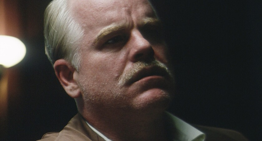 """Philip Seymour Hoffman in """"The Master"""""""