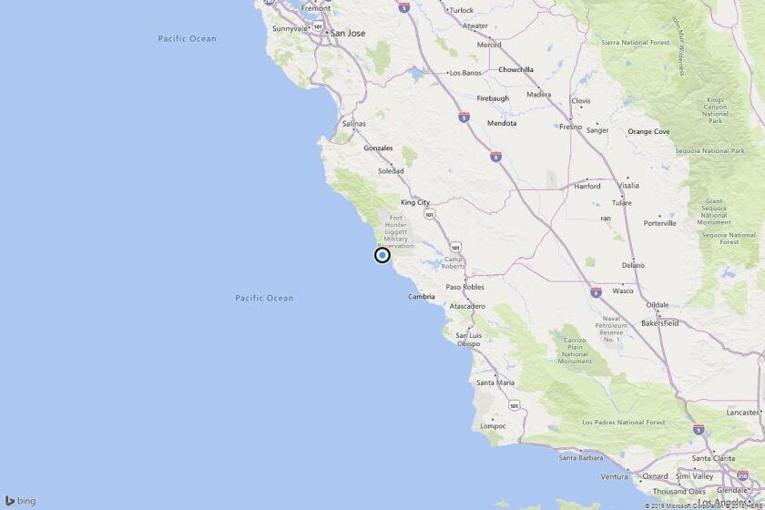 Earthquake: 3.5 quake strikes near Plaskett, Calif.