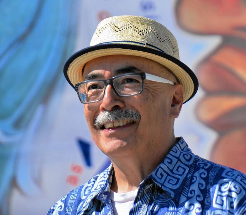 U.S. poet laureate Juan Felipe Herrera.