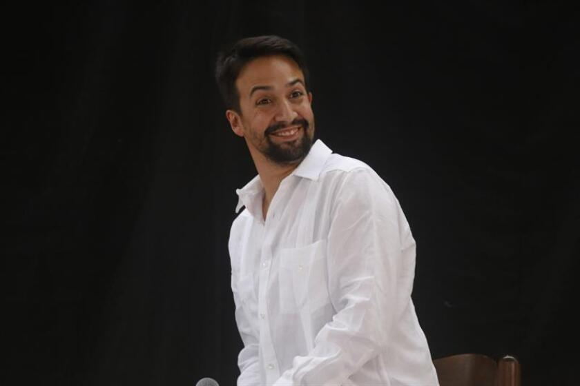 Lin-Manuel Miranda dice que Fallon va camino al Caribe para grabar programa