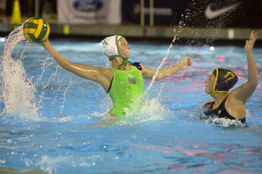 Costa Mesa girls' water polo can't stop California in CIF Division 5 title match
