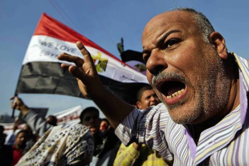Egypt protests intensify after passage of draft constitution