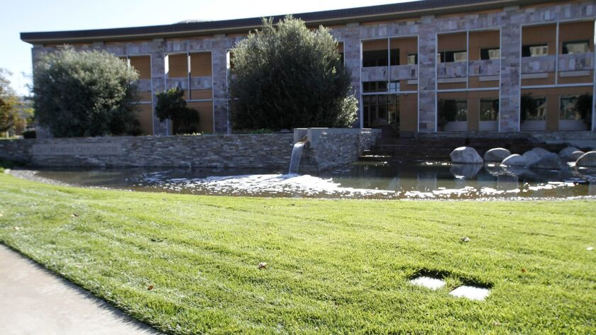 File photo of San Marcos City Hall. The city council will vote on the budget for fiscal year 2018/19 on Tuesday.