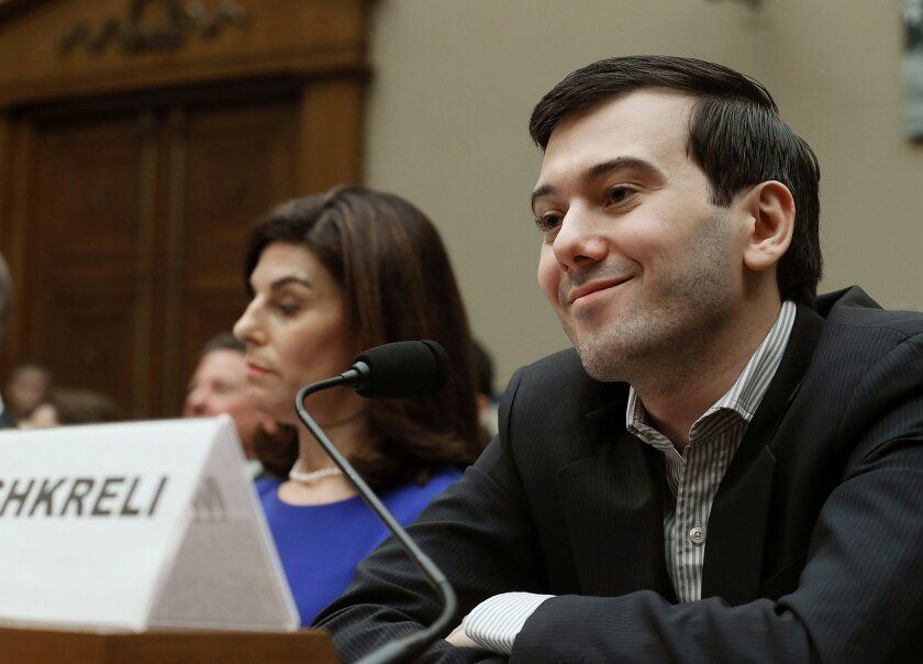 Former Turing Pharmaceuticals CEO Martin Shkreli in full smirk during an appearance Thursday before a congressional committee. But he's not really the problem.