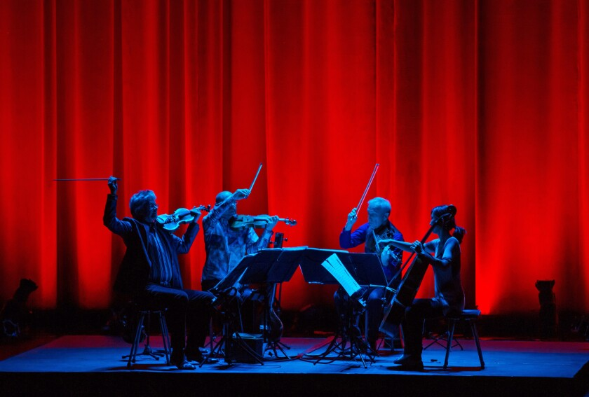 The coolest string quartet on the planet, Kronos, turned 40 and partied nonstop, Bogota, Vegas & a sublime Berkeley birthday bash included. MORE: Read the review