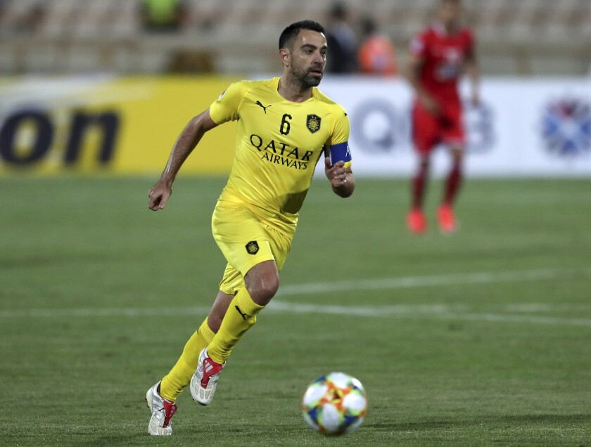 Iran Soccer Xavi Barcelona