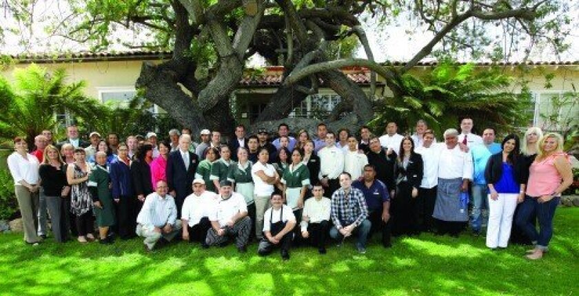 The Inn at Rancho Santa Fe Employee Appreciation Luncheon (Photo: Jon Clark)