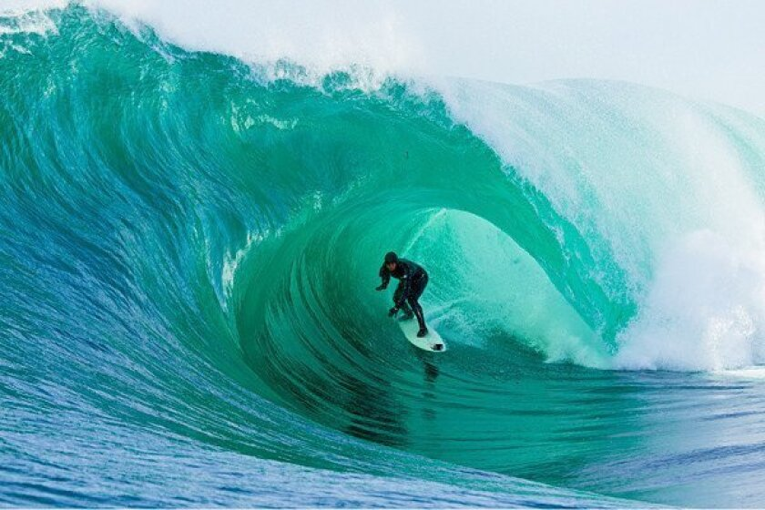 """A scene from """"Storm Surfers."""""""