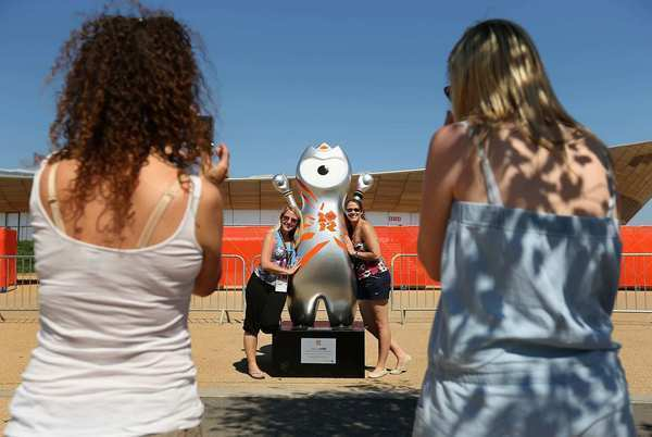 Wenlock in Olympic Park