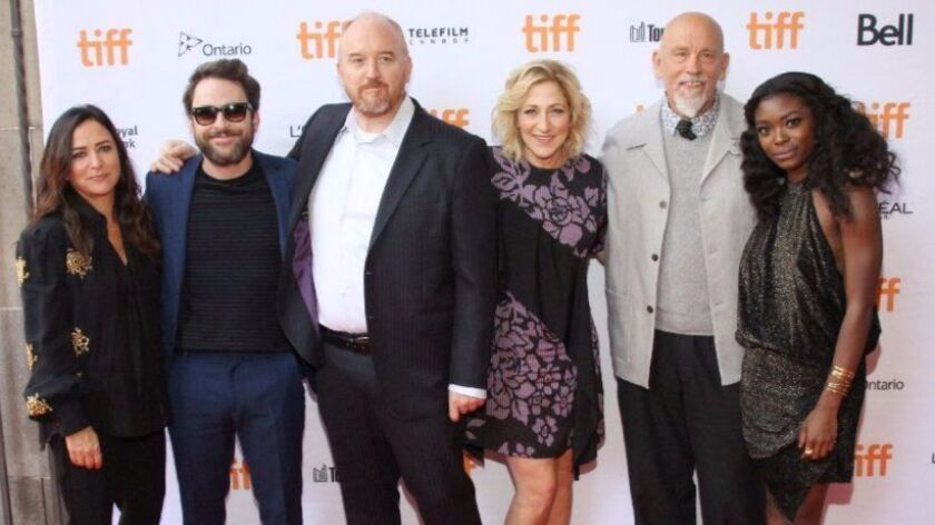 "At the Toronto International Film Festival for the premiere of ""I Love You Daddy"" are, from left: Pa"