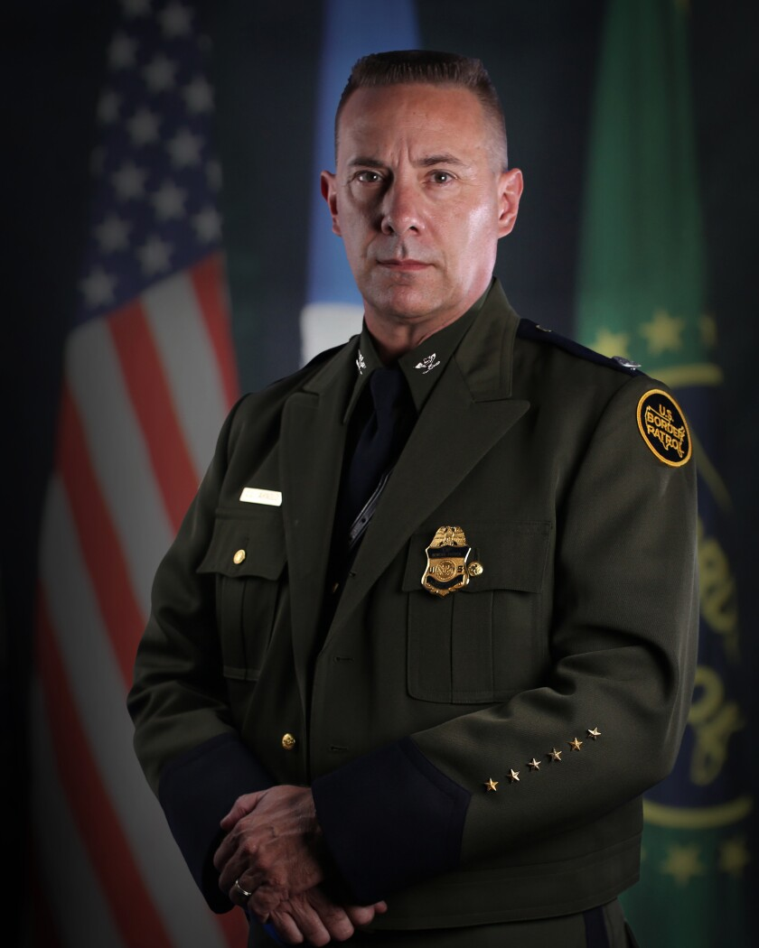 Today, Arnold is an assistant chief with the U.S. Border Patrol.