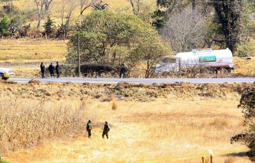 Seis heridos al cerrar toma ilegal de gas en estado mexicano de Puebla