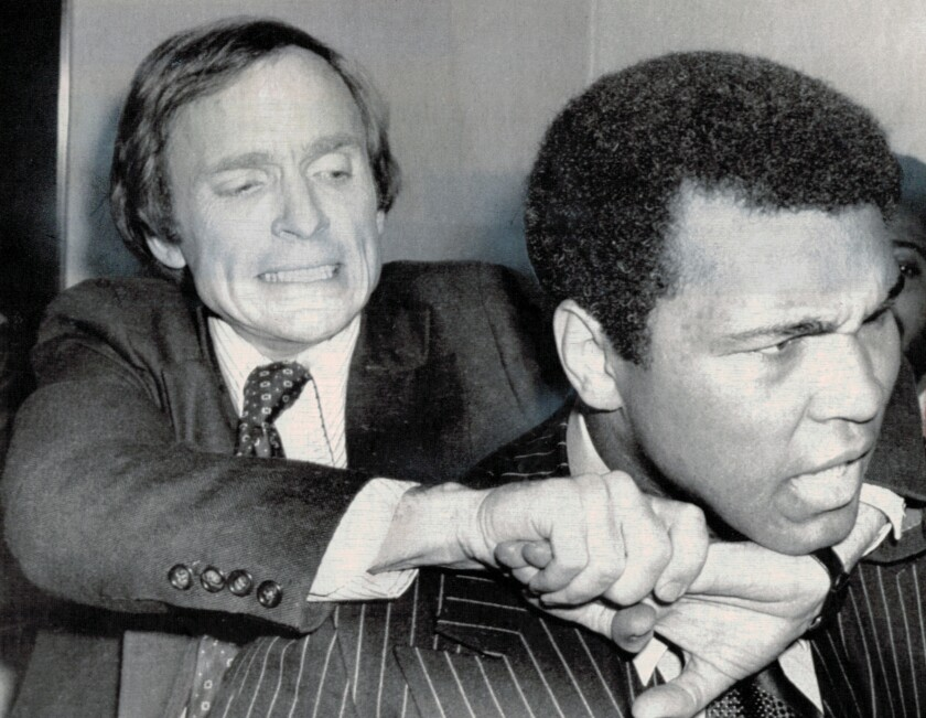 Dick Cavett and Muhammad Ali