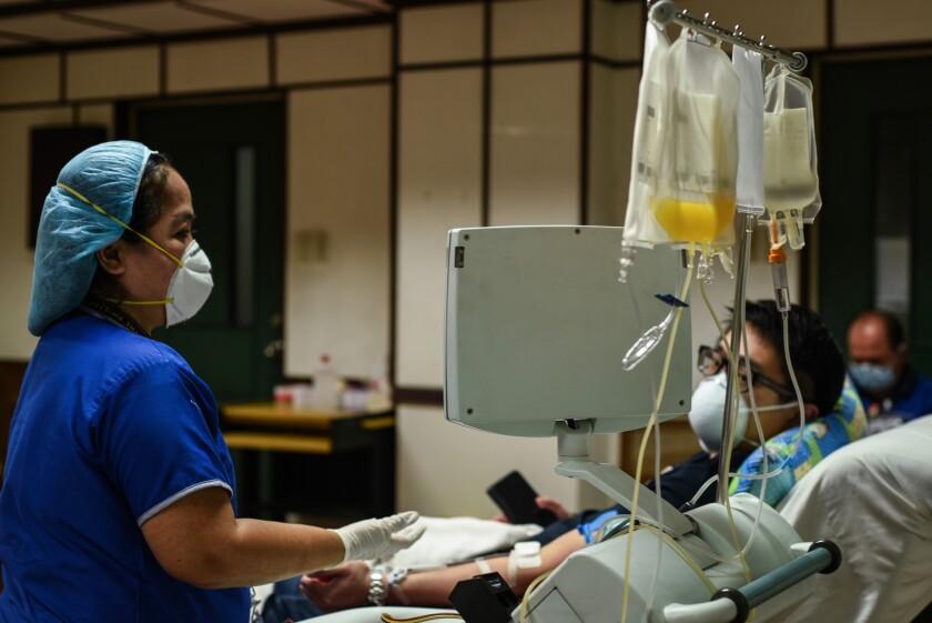 Filipina nurse