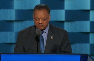 Watch Jesse Jackson speak at the Democratic National Convention