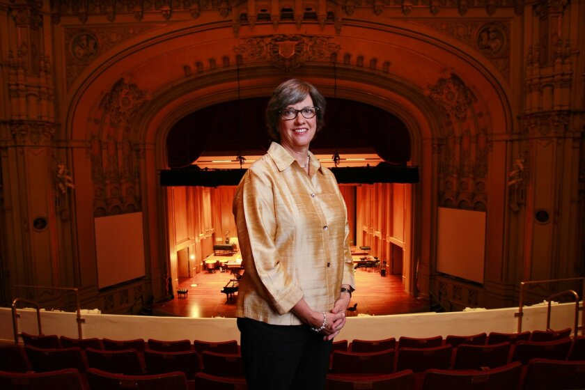 Coming from Chicago, Martha Gilmer took over in October as the CEO of the San Diego Symphony. K.C. Alfred • U-T