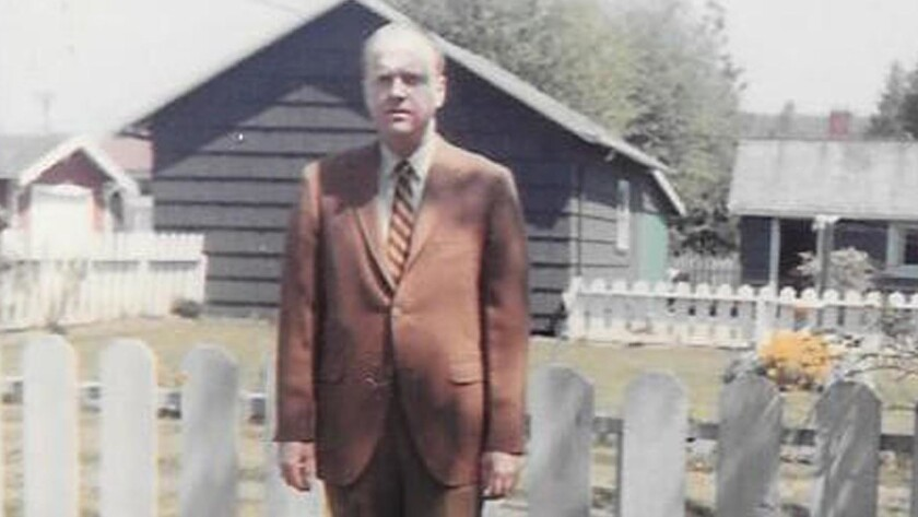 Ken Millen is seen in this file photo in his later years. Millen died in December and donated nearly a million dollars to Grays Harbor College, his alma mater.